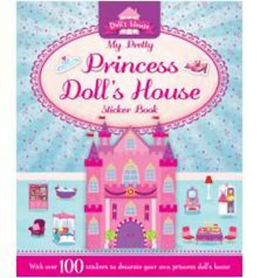 Princess Doll's House sticker book - OVER 100 STICKERS