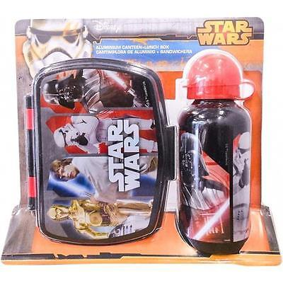 Star Wars - Character 2 Piece Picnic / Lunch Set - New & Official Lucasfilm Ltd