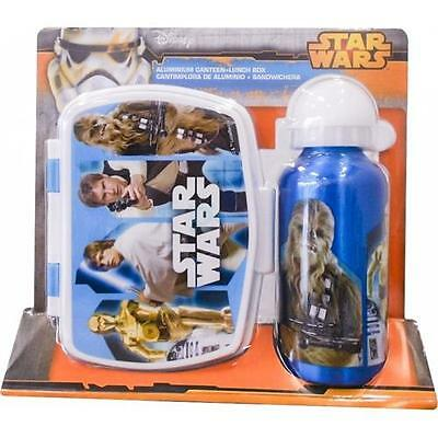 Star Wars - Retro Heroes 2 Piece Picnic / Lunch Set - New Official Lucasfilm Ltd