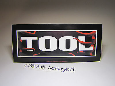 "**OFFICIALLY LICENSED** Tool Band Sticker | 3"" X 7"" 