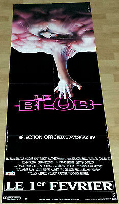 1988 THE BLOB Chuck Russell Kevin Dillon HORROR French door movie poster