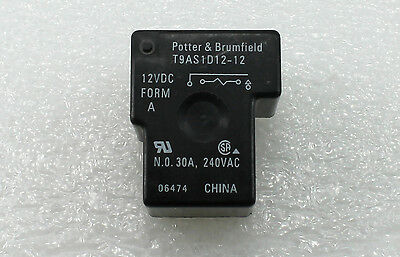 1PCS T9AS1D12-12-12VDC  Encapsulation:RELAY,Low   Cost  30  Amp  PC  Board  or