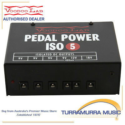 Voodoo Lab Pedal Power ISO5 - Isolated Guitar Pedal Power Supply
