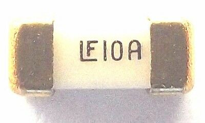 FUSE 10A 125v LF10A Very Fast acting Nano Littlefuse 0451010.NRL 6.1mmx2.69mm