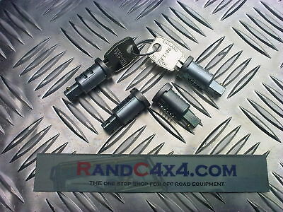 MTC6505 Land Rover Defender Door Barrel Lock Set Rear, Side & fuel cap 4 of