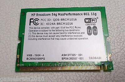 BROADCOM 54G DRIVERS PC