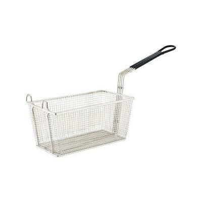 Fry Basket, Chrome Plated, Rectangular, 350x138x150mm, Fryer / Frying / Chips