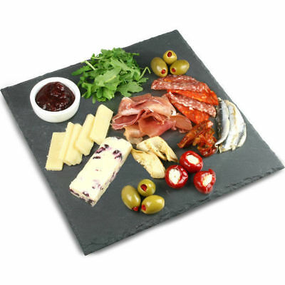 Slate Plate, Square, 300mm, Athena Art de Gourmet, Serving Platter