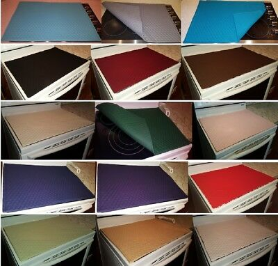 Quilted Cover & Protector for Glass/Ceramic Stove Top / Cooktop (11 Colors)