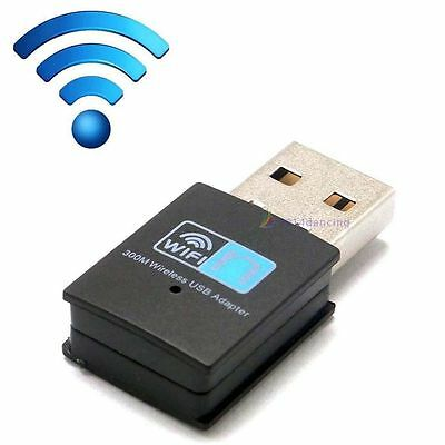 300Mbps Mini Wireless USB 2.0 Wi-Fi Network Adapter Antenne LAN 802.11n/g/b