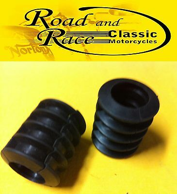 Fuel Tank support mounting rubber, Norton Featerbed, Cafe Racer frames (pair)
