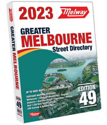 Melway 2017 Melbourne Street Directory Edition 44 - BRAND NEW FREE POSTAGE 2016