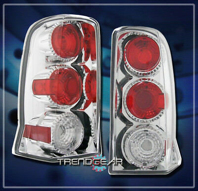 2002-2006 Cadillac Escalade Altezza Tail Brake Lights Lamp Chrome 2003 2004 2005