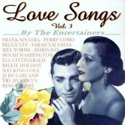 Various Artists : Love Songs: By the Entertainers - Volume 3 CD (2001)