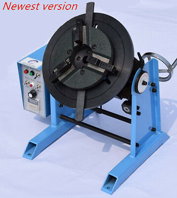 1~15RPM 30KG Duty Welding Positioner Turntable Timing with 200mm Chuck 220V s
