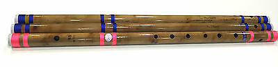 "Professional Concert Flute Scale BB 28"" Bansuri Bamboo Transverse Top Quality UK"