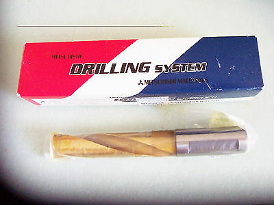 New - 18.00 mm   BRA 1800S20  UP20M Carbide Tipped Coolant Drill Mitsubishi