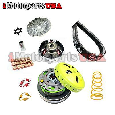 Transmission Clutch Performance Upgrade Kit For Eton Beamer Ii Iii 50 Scooter
