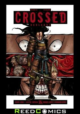 CROSSED VOLUME 13 GRAPHIC NOVEL Paperback Collects Badlands #71-74, Special 2014