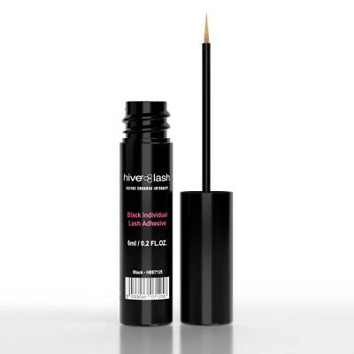 NEW! Hive of Beauty Individual EyeLash Glue BLACK  6ml