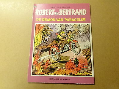 STRIP / ROBERT EN BERTRAND 42: DE DEMON VAN PARACELSE | 1ste druk