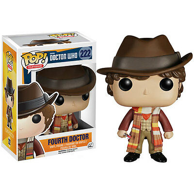 Dr Who - Fourth Doctor Pop! Television Vinyl Figure - New & Official BBC Boxed