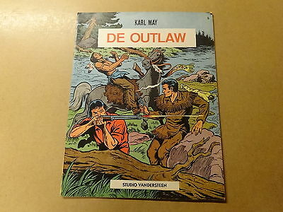 STRIP / KARL MAY 9: DE OUTLAW | 1ste druk