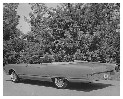 1965 Oldsmobile 98 Automobile Factory Photo ch6992
