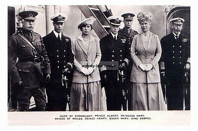 mm988 - Duke of Connaught with King George V & Family - photo 6x4