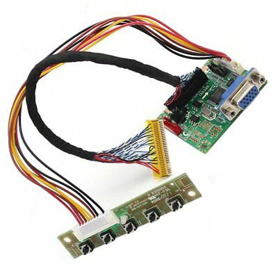 "MT6820-B Universal LVDS LCD Monitor Driver Controller Board 5V 17""-42"" Replace 6"