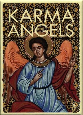 Karma Angels Oracle Cards, brand new from Lo Scarabeo!