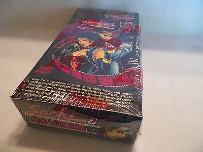 1993 Sachs & Violens Comic Book Art Cards Unopened Pack Box Comic Images NS108