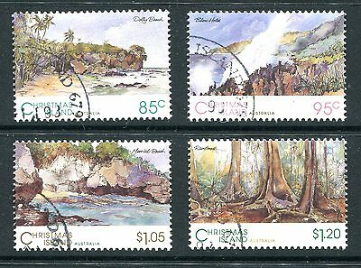 Christmas Island 1993 Scenic Views Used cto