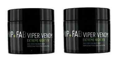NIP+FAB Viper Venom Night x2 - extreme night fix - 2 tubs (50ml each)