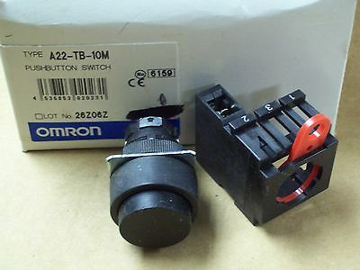 New Omron Push Button Switch , A22-Tb-10M