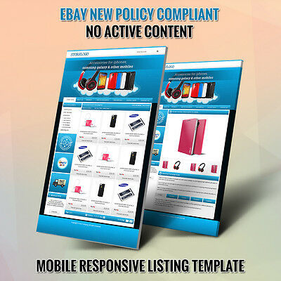 Advance eBay Shop & Listing Auction HTML Templates- Free Setup in 24 Hours