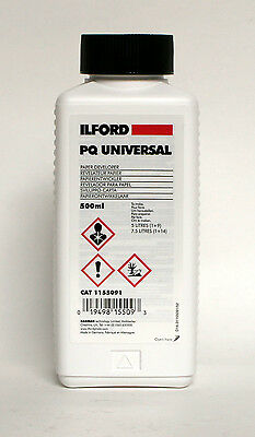 Ilford PQ Black and White Paper Developer 500ml