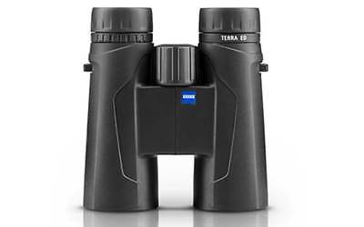 New Genuine Carl Zeiss Terra Ed Binoculars 10 X 42 Black Hunting Optics