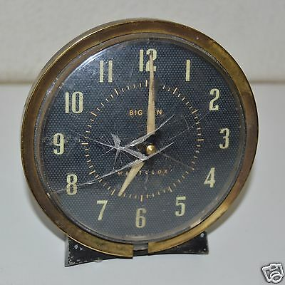 OLD Vintage Antique Westclox Alarm Clock Repair Parts Or Display Great Patina
