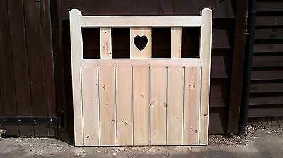 wooden gate - cottage style-garden gate heavy duty-quality timber - bespoke gate