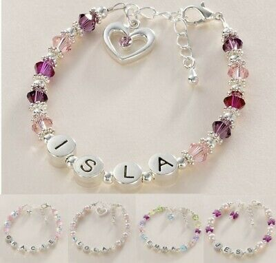 Girls Name Bracelets, Personalised Jewellery for Children!