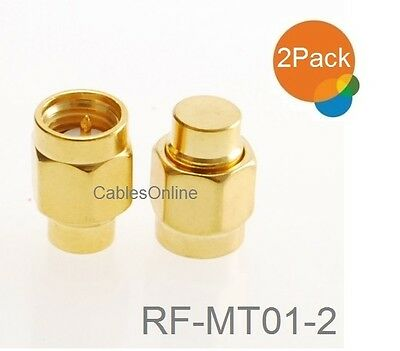 10-PACK TNC Female to Gold-Plated SMA Female Coaxial RF Adapter RF-M151-10