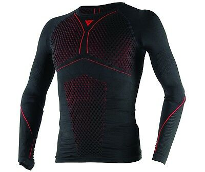 Funktionsunterwäsche Dainese D-Core THERMO TEE LS Gr:XS/S sw/rot Langarmshirt