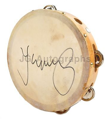 John Mellencamp - Classic Singer-Songwriter - Authentic Autographed Tambourine