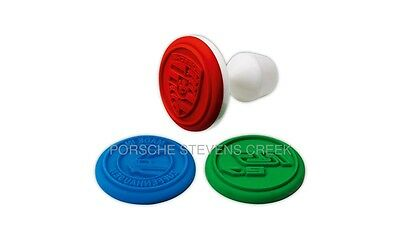 Porsche Cookie Stamps Set Cookie Cake Candy Pastry Tool RS 2.7 Collection Crest
