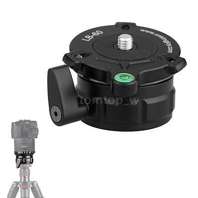 "69mm Speedy Adjustable Leveling Base Panning Level for 1/4"" 3/8"" Thread Tripods"