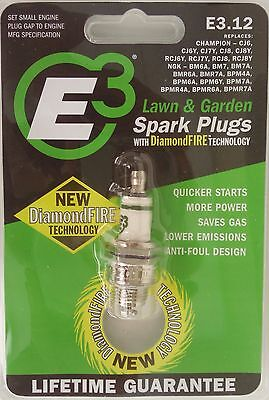 E3.12 SPARK PLUG Quick Start Replaces: CJ6 CJ6Y CJ7Y CJ8 CJ8Y RCJ6Y RCJ7Y  RCJ8