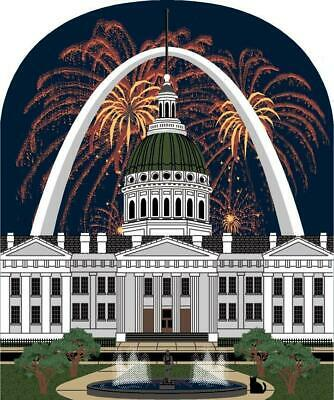 Cat's Meow Village St. Louis Gateway Arch Old Courthouse #07-423 NEW