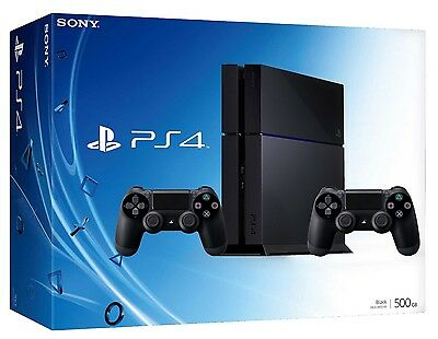 Sony Playstation 4 Ps4 500Gb + 2° Controller Nera New Garanzia Italia Chassis C