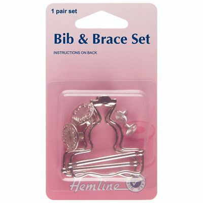 Bib and Brace Set Nickel